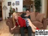 Blonde Schoolgirl Spanked and Fucked